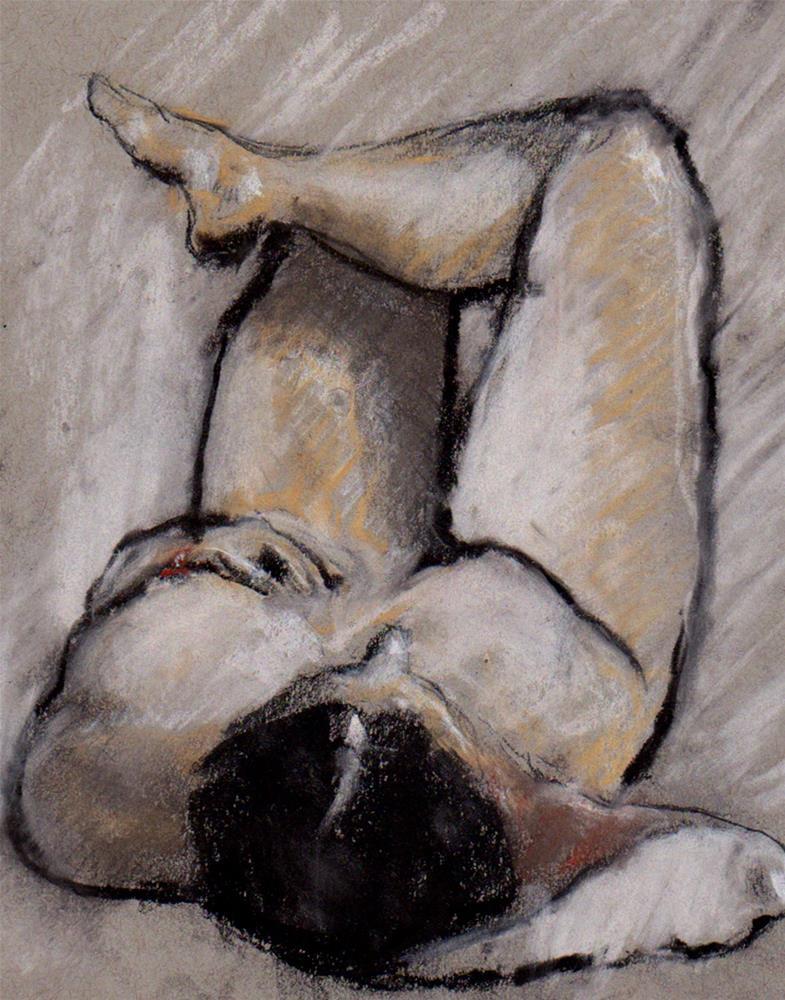 """Figure Drawing A22"" original fine art by Bob Kimball"