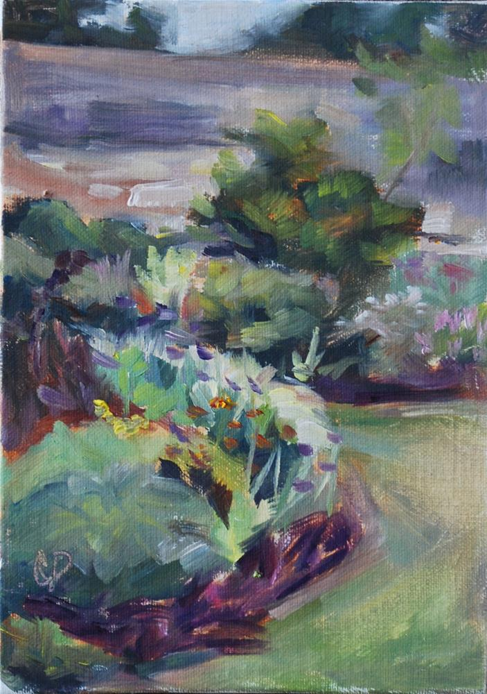 """Garden Study"" original fine art by Carol DeMumbrum"