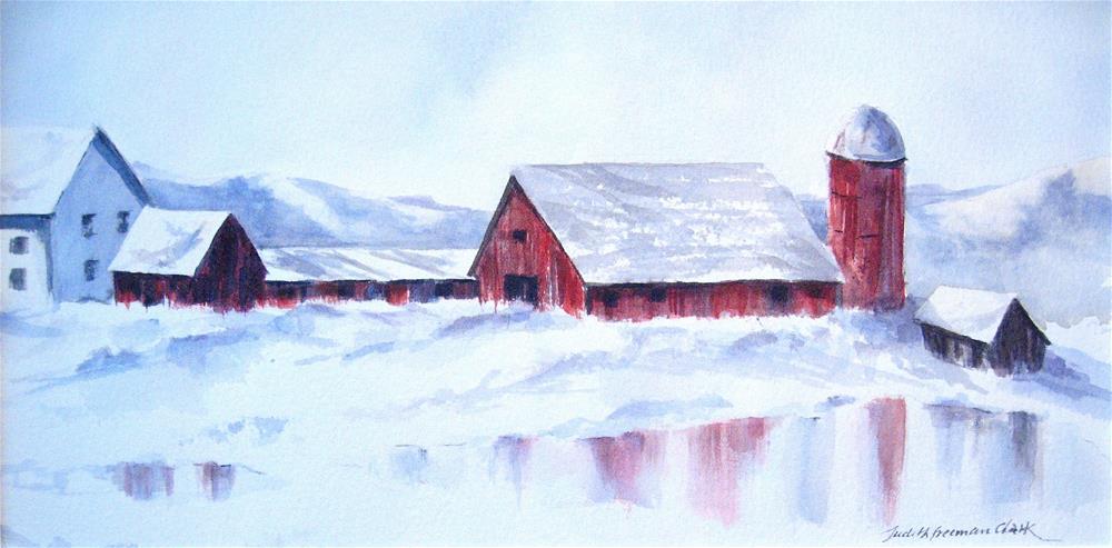 """""""Five Below"""" original fine art by Judith Freeman Clark"""