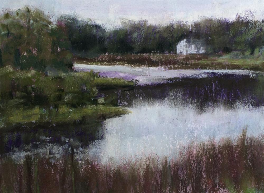 """Philips Pond"" original fine art by Cristine Kossow"