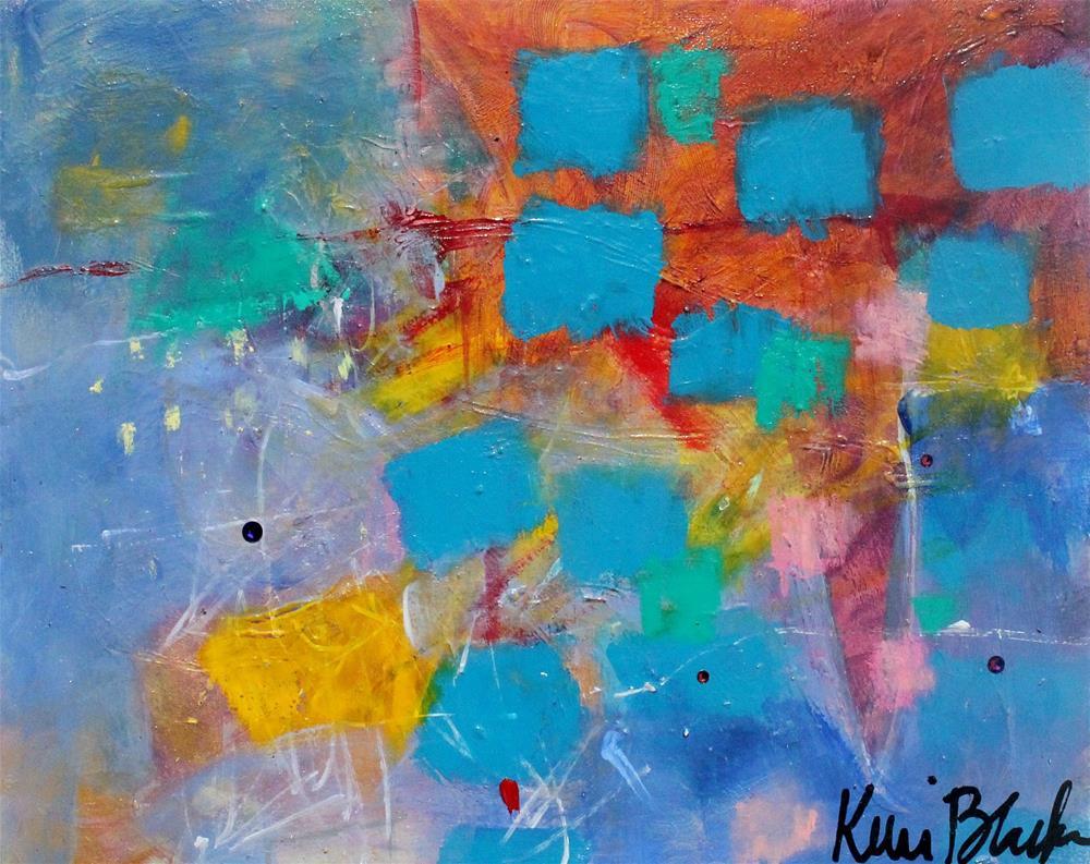 """In the Beginning"" original fine art by Kerri Blackman"