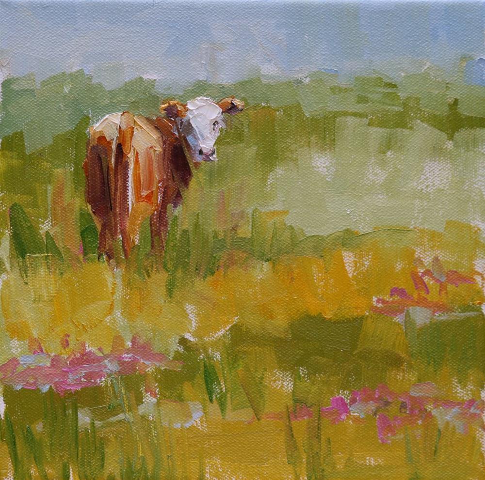 """""""all to myself"""" original fine art by Carol Carmichael"""