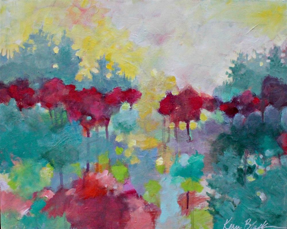 """Morning Stillness"" original fine art by Kerri Blackman"