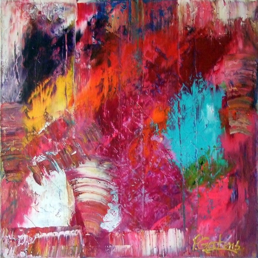 """Intricate Ikat"" original fine art by Pamela Gatens"