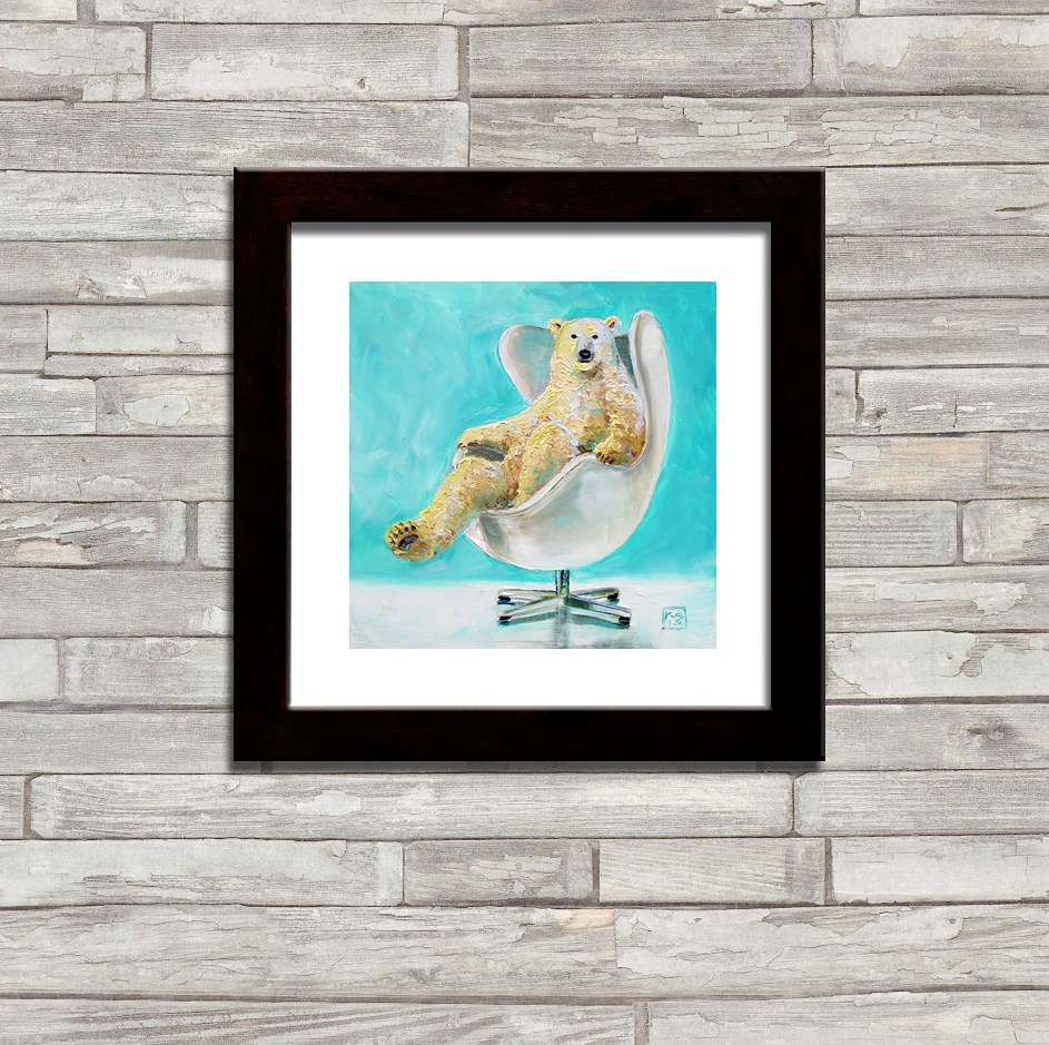 """weekend shopping PRINTS!"" original fine art by Kimberly Applegate"