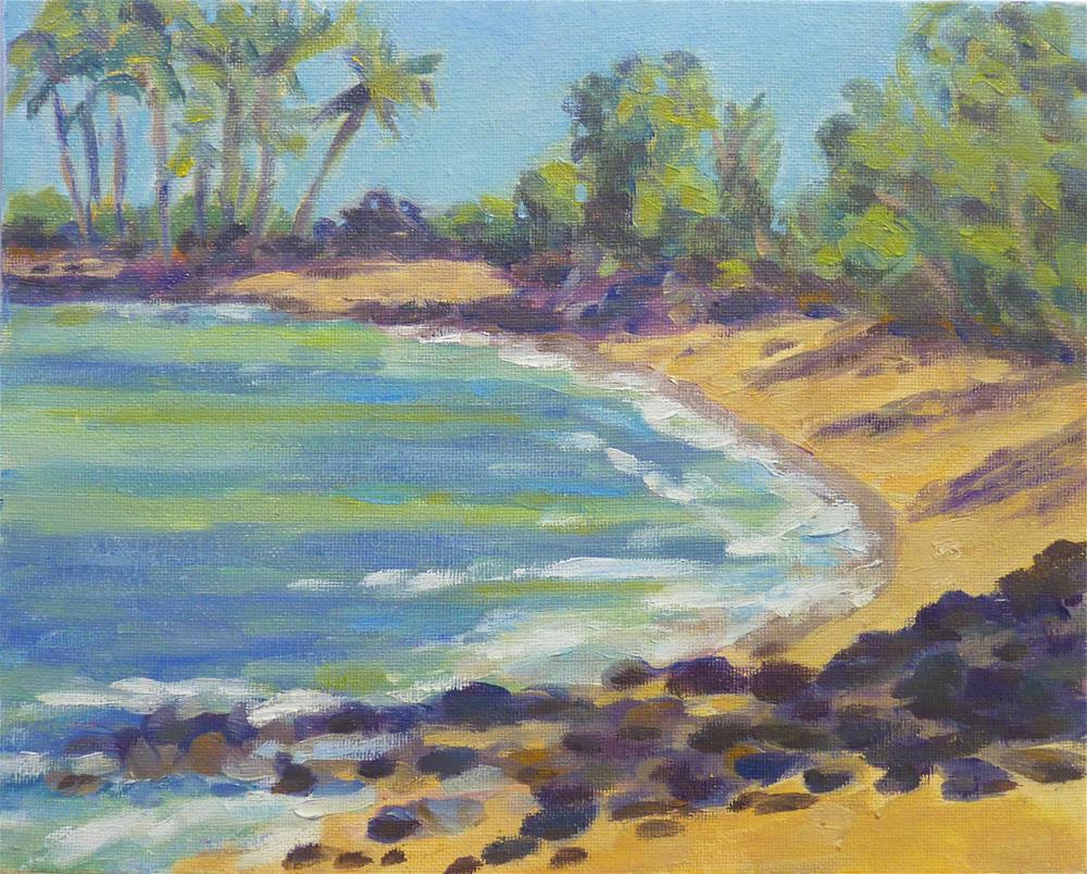 """Kekaha Beach"" original fine art by Stan Chraminski"