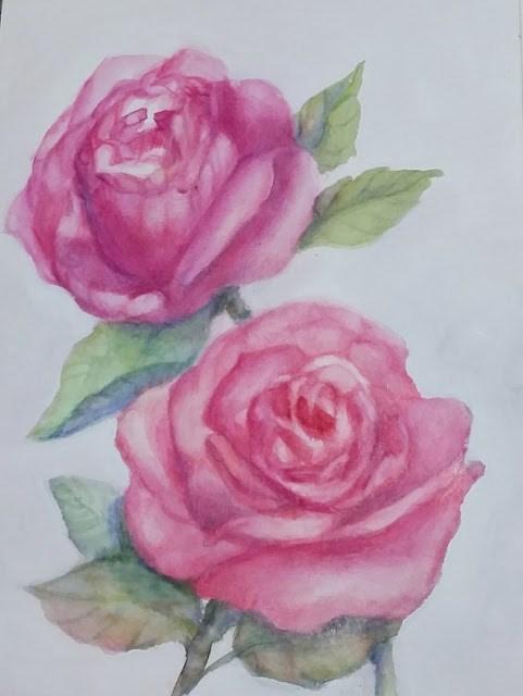 """Summer's Delight"" original fine art by Wendy Starita"