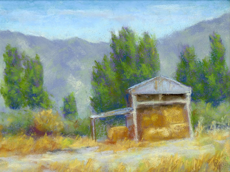 """Summer on the Ranch"" original fine art by David King"