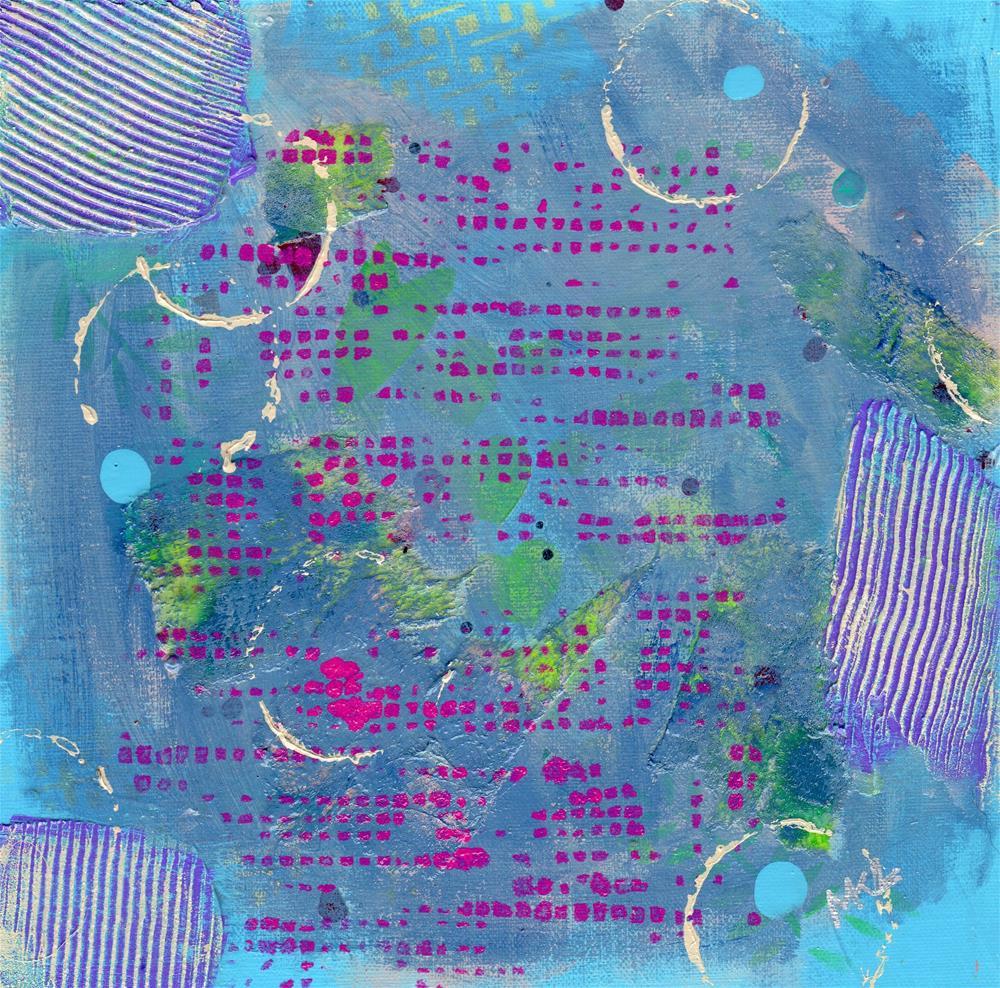 """DIT DOT"" original fine art by Marie Lynch"