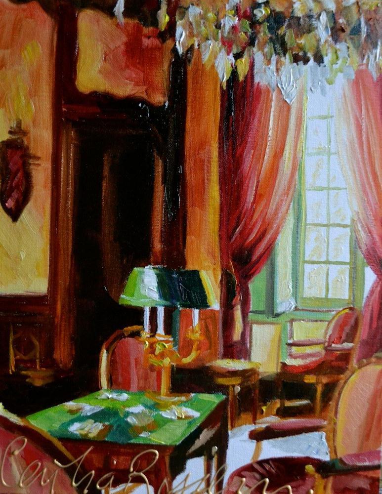 """KAARTSPEL"" original fine art by Cecilia Rosslee"