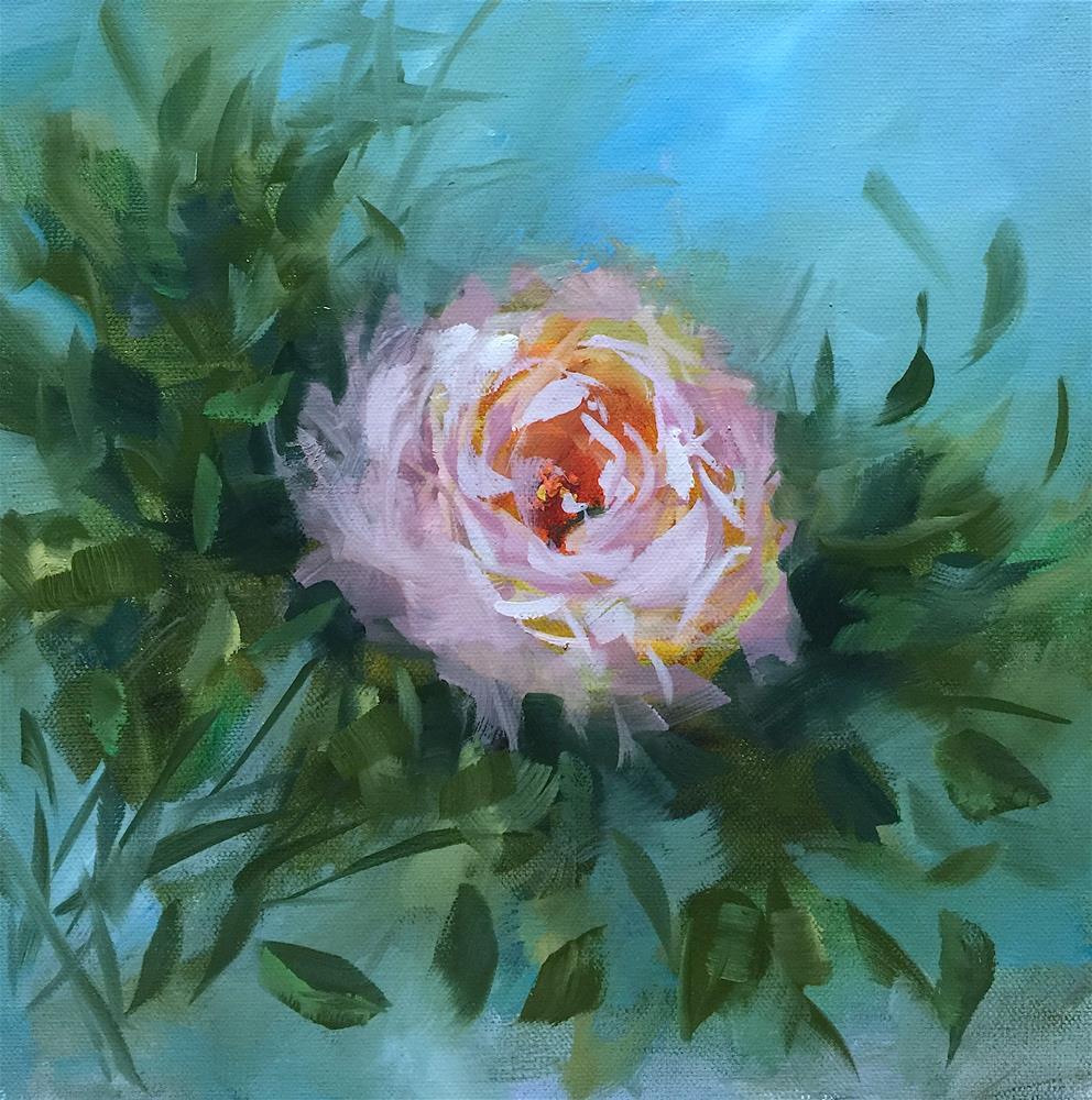 """Berries and Creme Peony - Nancy Medina Art"" original fine art by Nancy Medina"