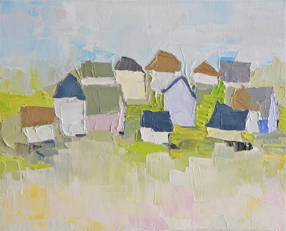 """Community"" original fine art by Donna Walker"