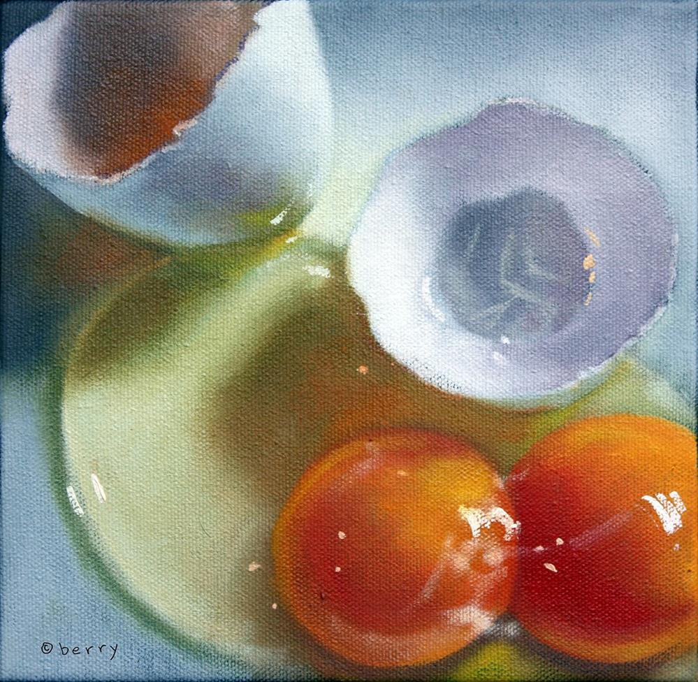 """BREAKFAST"" original fine art by Suzanne Berry"
