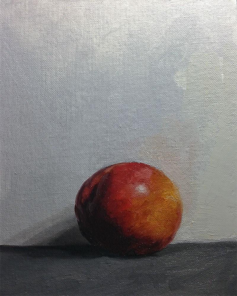 """Nectarine"" original fine art by Chris Beaven"