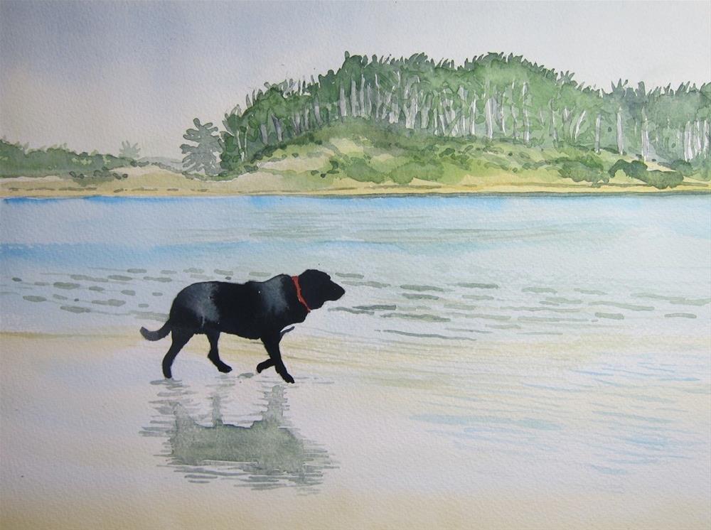 """""""Shadow's Shadow"""" original fine art by Tim Barraud"""