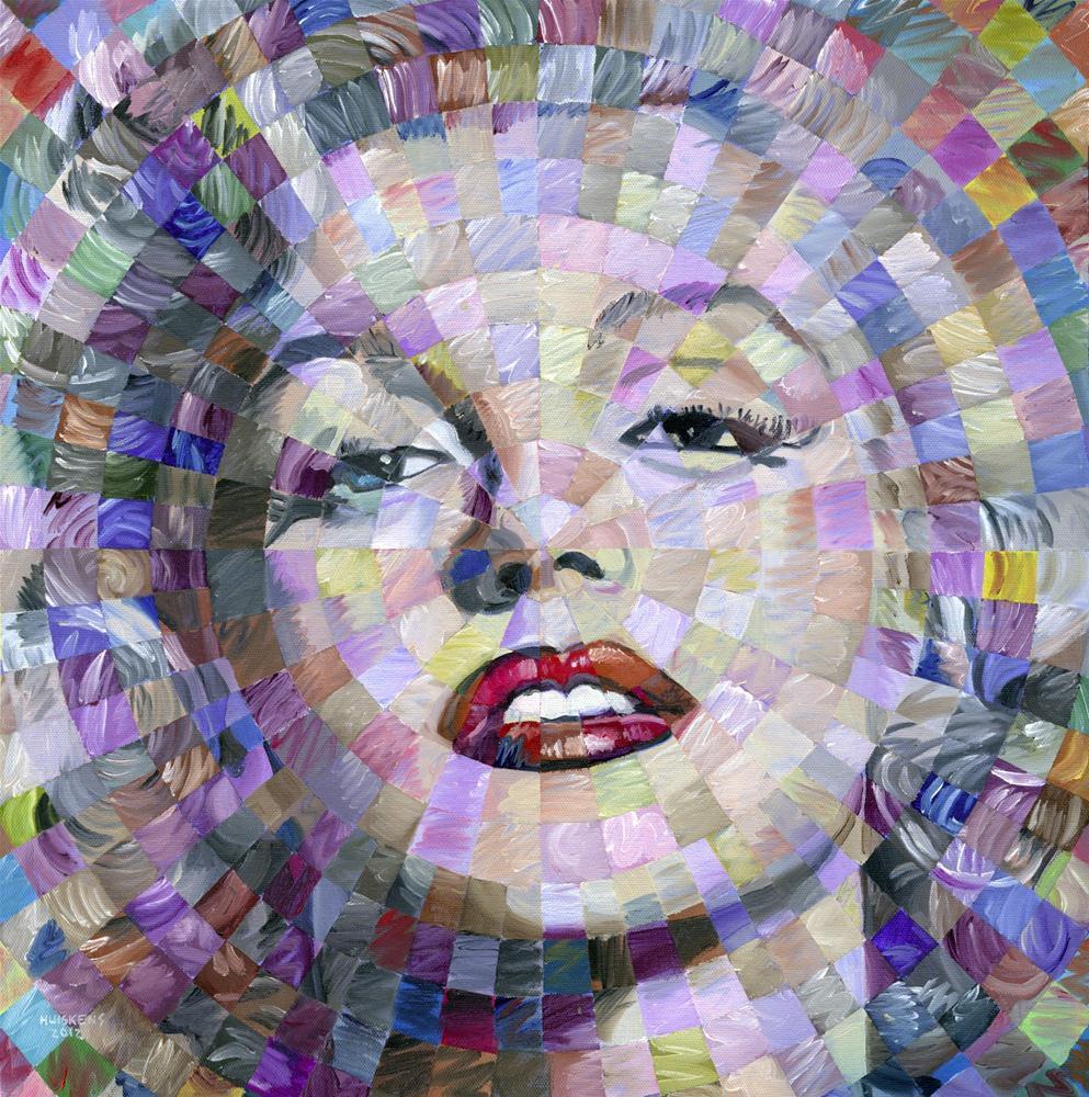 """Marilyn Monroe #2"" original fine art by Randal Huiskens"