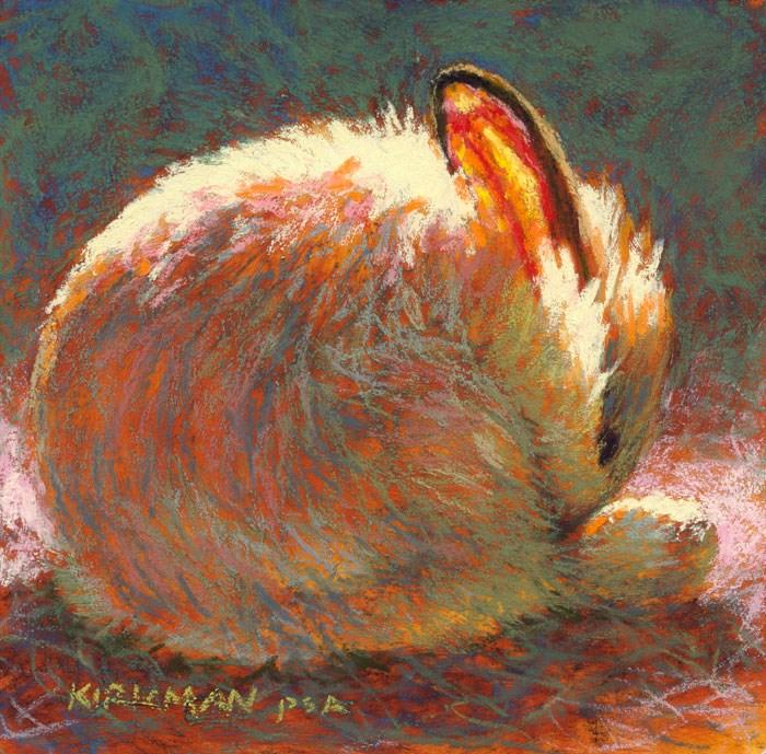 """Sugar Bun"" original fine art by Rita Kirkman"