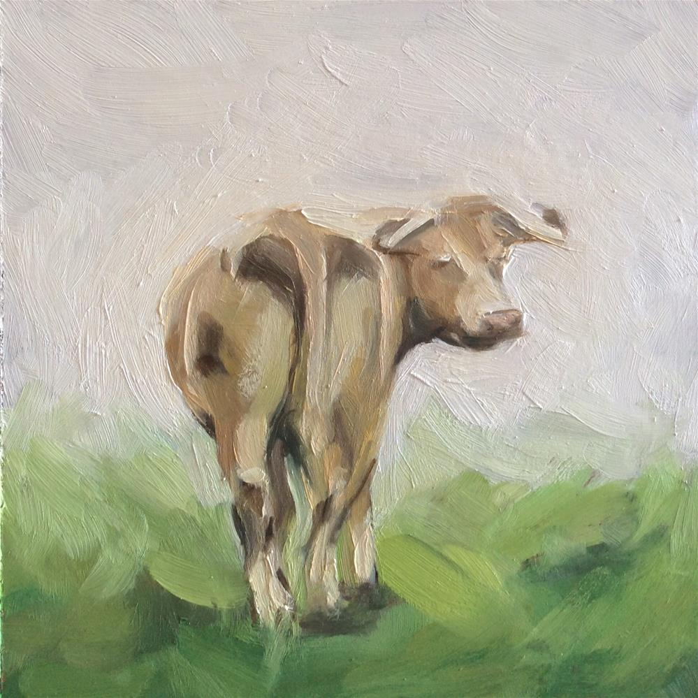 """Dairy Air"" original fine art by Paula Howson-Green"