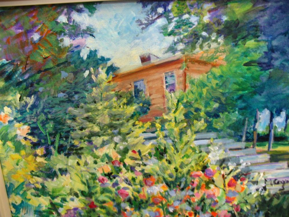 """the island"" original fine art by meribeth coyne"