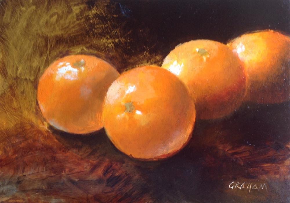 """Four"" original fine art by Stuart Graham"