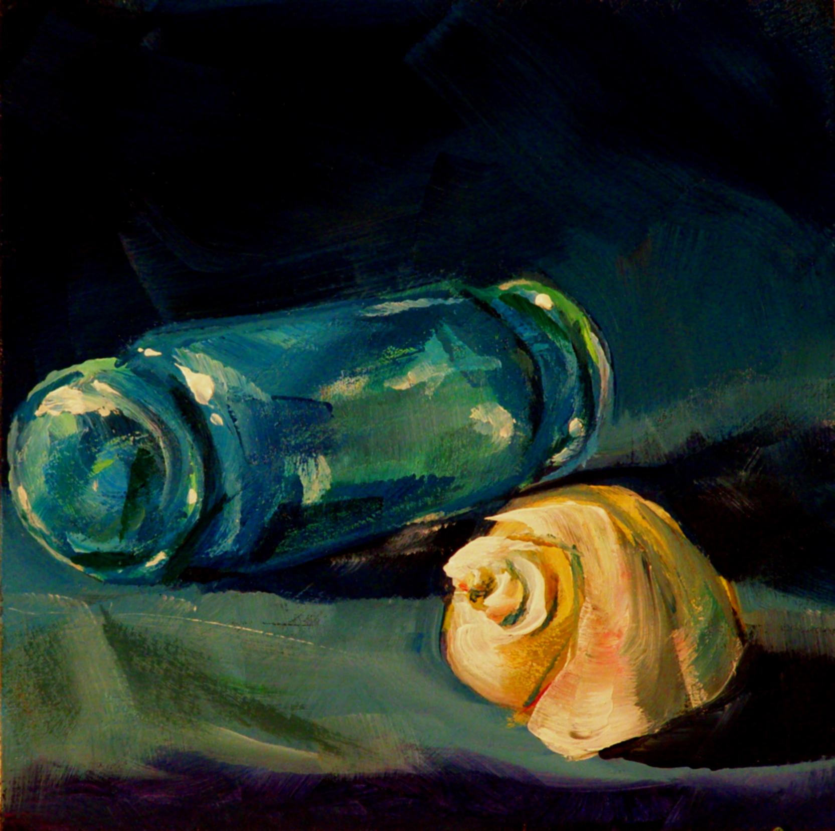 """GLASS FLOAT"" original fine art by Brian Cameron"