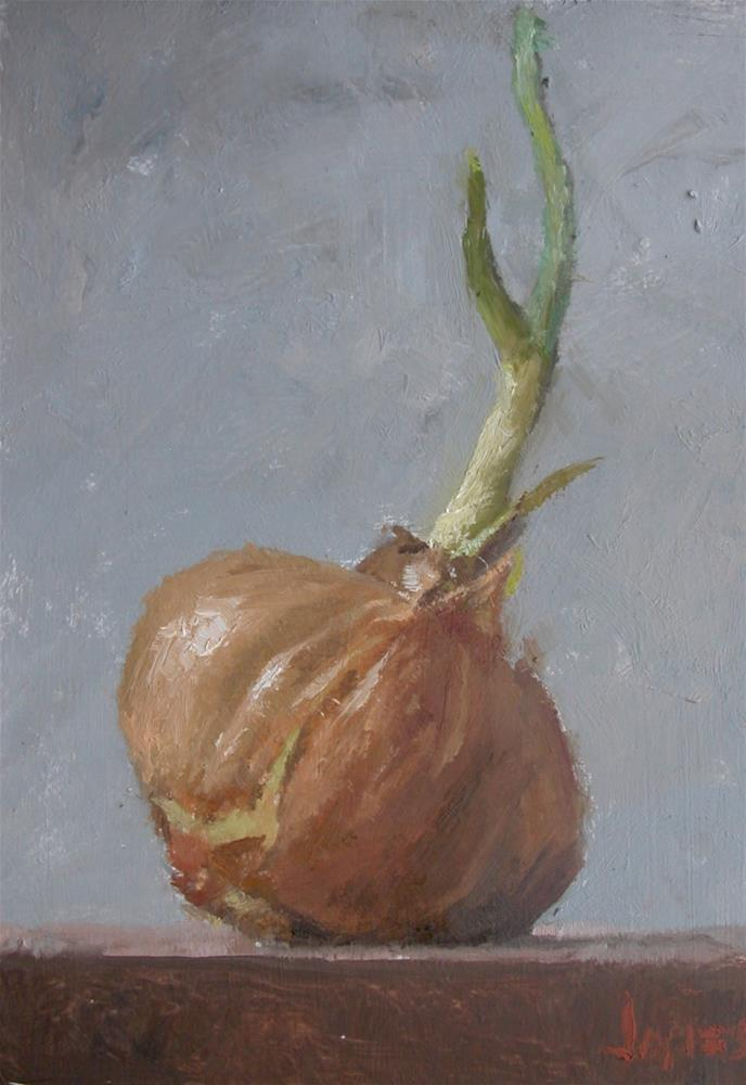 """Sprout"" original fine art by Richard Jones"