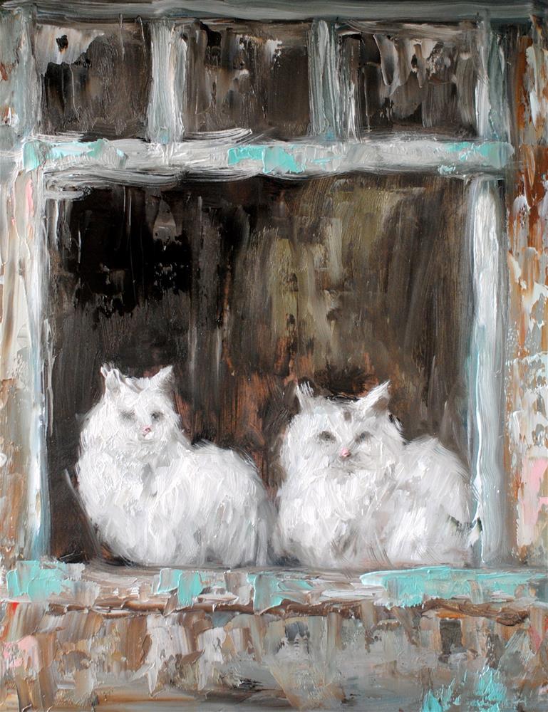 """""""The Watchers"""" original fine art by Kelly Berkey"""