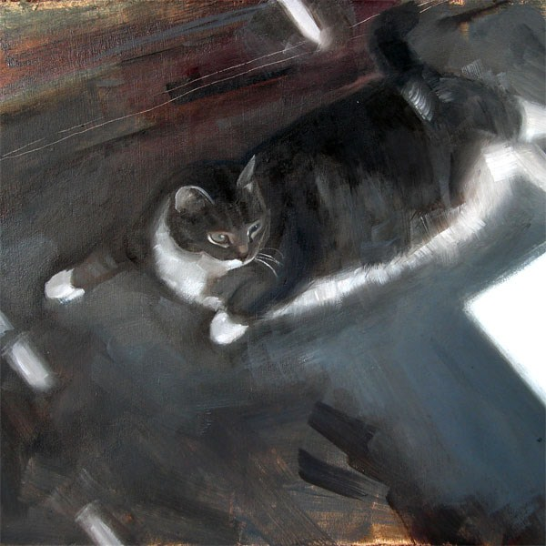 """Izzy and Sunbeams (no.62)"" original fine art by Michael William"