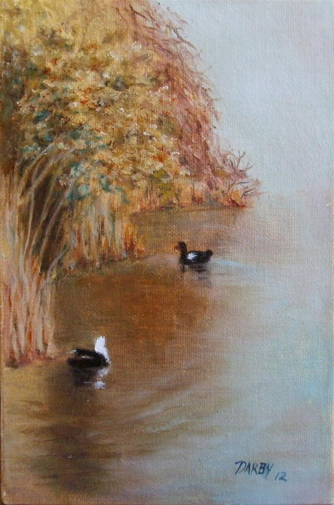 """Brush"" original fine art by Lynn Darby"