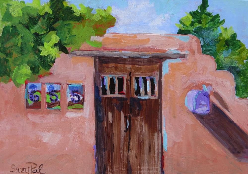 """Santa Fe #4"" original fine art by Suzy 'Pal' Powell"