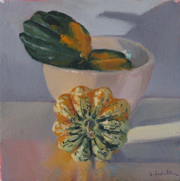 """""""Delicata"""" original fine art by Sarah Sedwick"""
