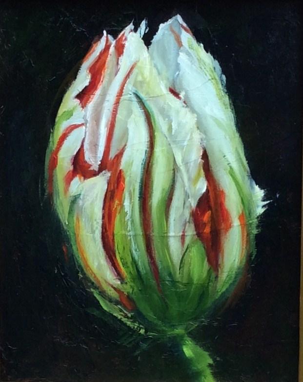 """Tulip Envy"" original fine art by Susie Monzingo"