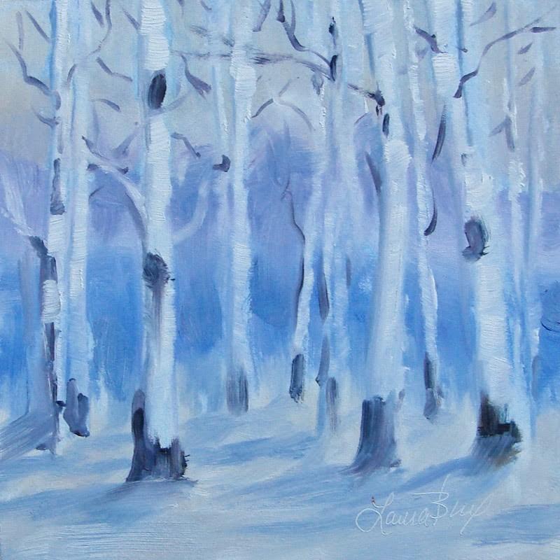 """Season II 283"" original fine art by Laura  Buxo"