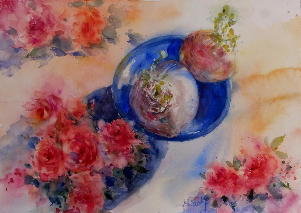 """Power of life"" original fine art by Midori Yoshino"