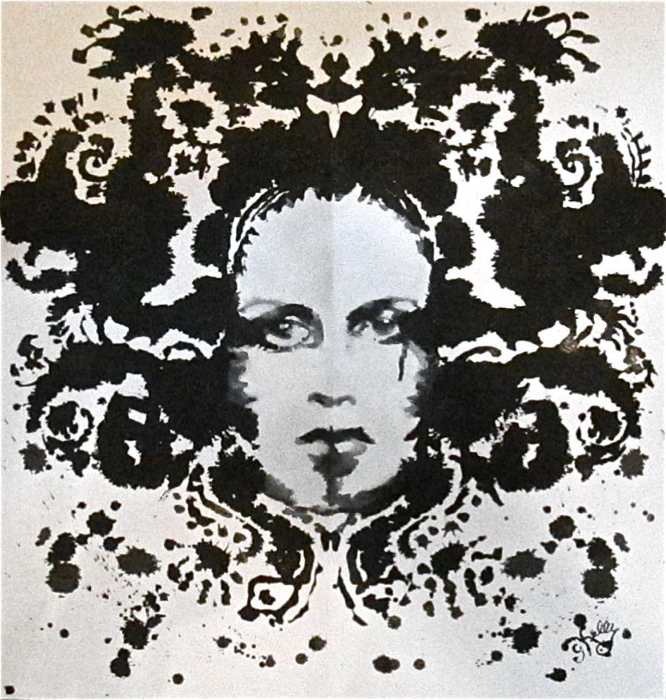 Twiggy #4 by Gretchen Kelly, New York Artist original fine art by Gretchen Kelly