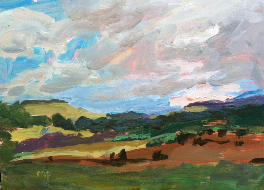 """Landscape"" original fine art by Christine Parker"