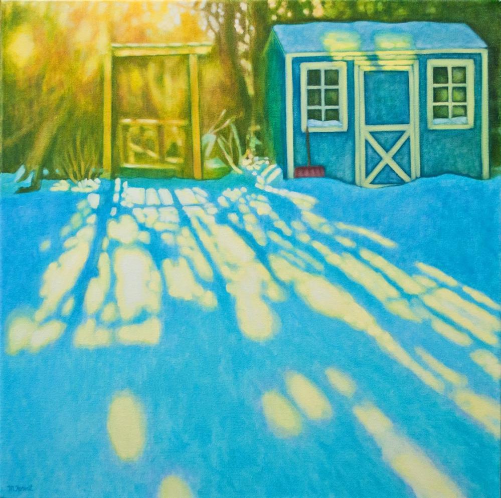 """""""One Winter Morning"""" original fine art by Margaret Horvat"""