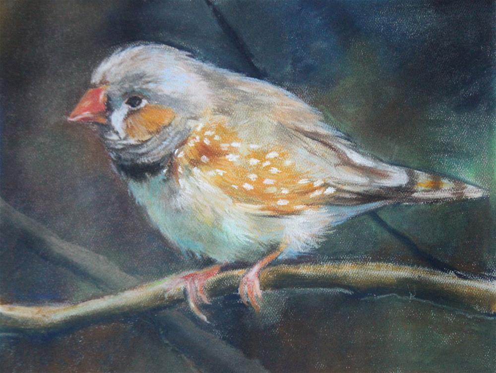 """""""Little Bird"""" original fine art by Neringa Maxwell"""