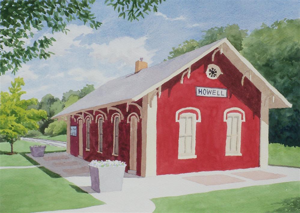 """""""Howell Depot"""" original fine art by Greg Arens"""
