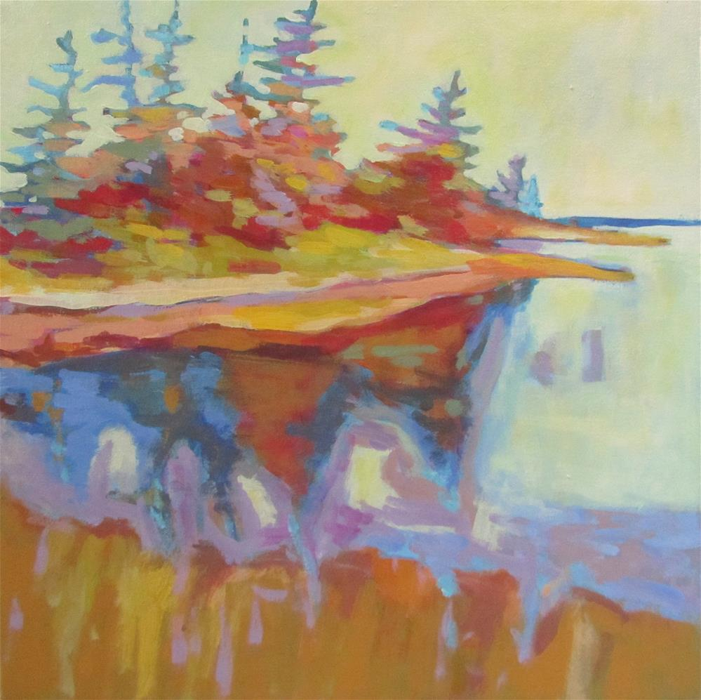 """Nova Scotia South Shore"" original fine art by Patricia MacDonald"