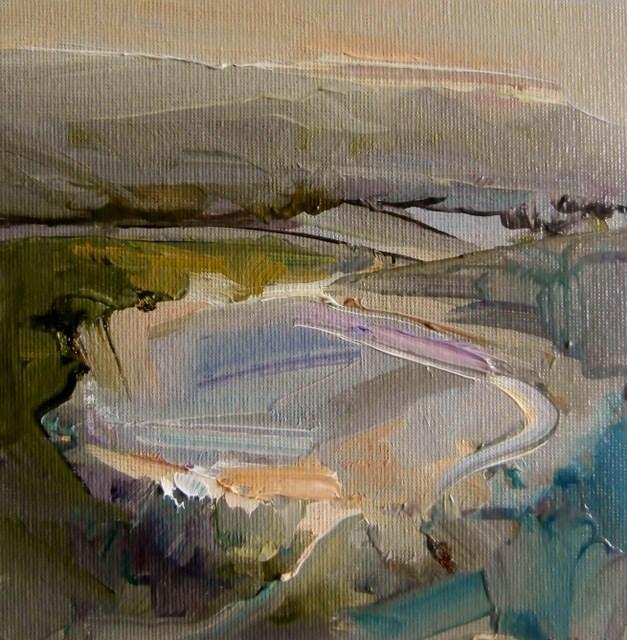 """Lowland Pool"" original fine art by Anne Wood"