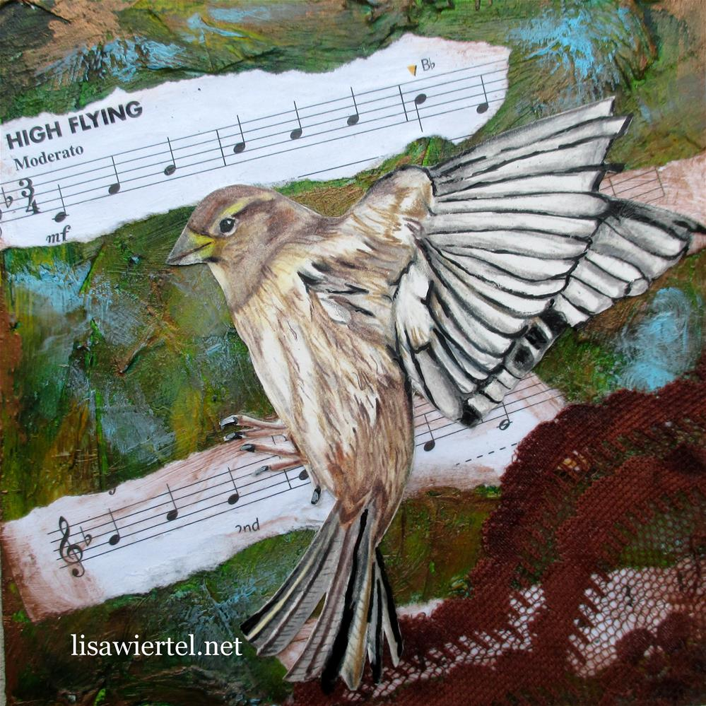 """High Flying"" original fine art by Lisa Wiertel"
