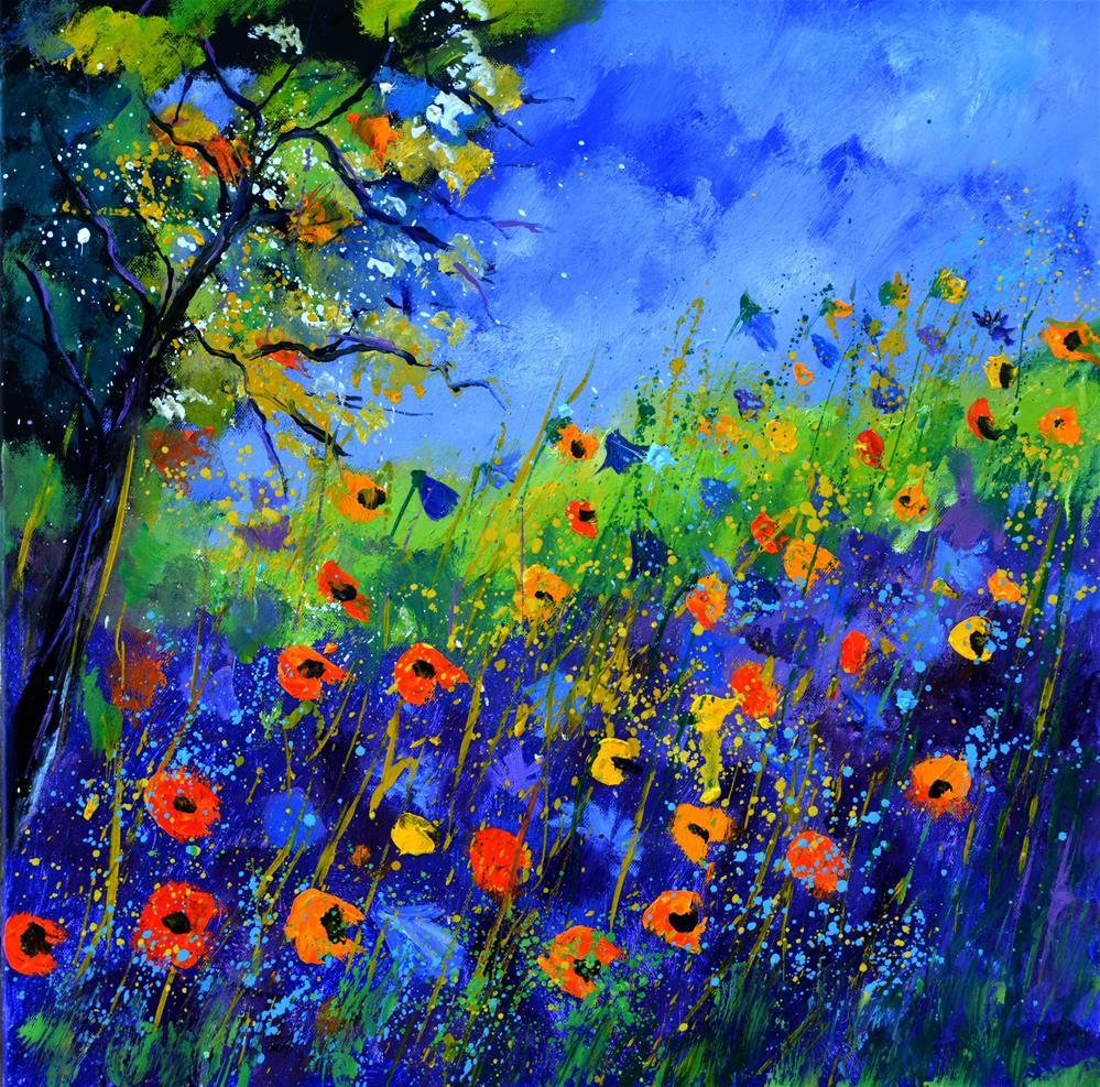 """wildflowers 667130"" original fine art by Pol Ledent"