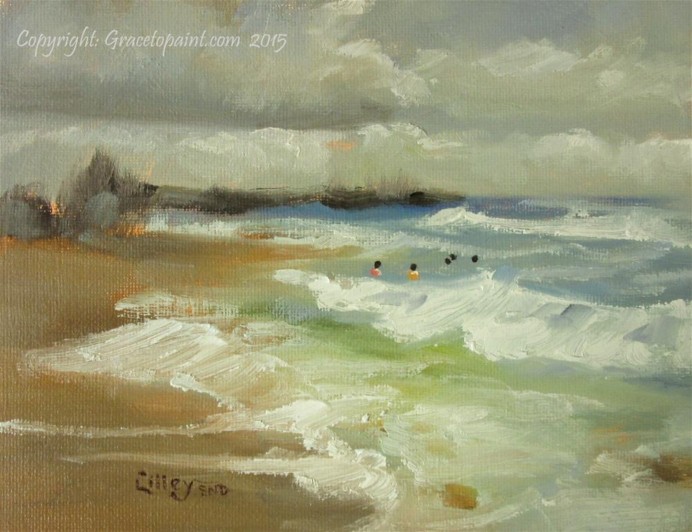 """""""Out to Sea"""" original fine art by Maresa Lilley"""