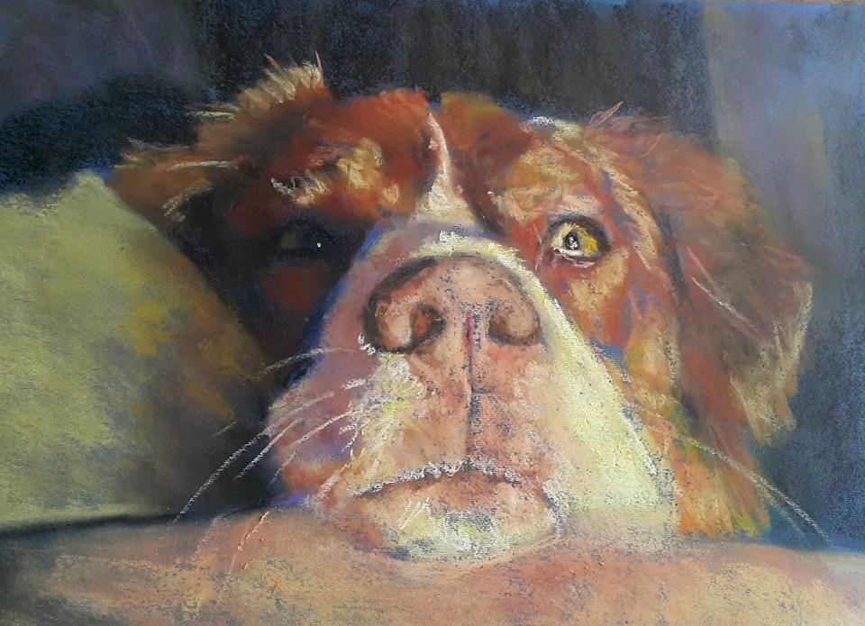 """Resting"" original fine art by Rentia Coetzee"