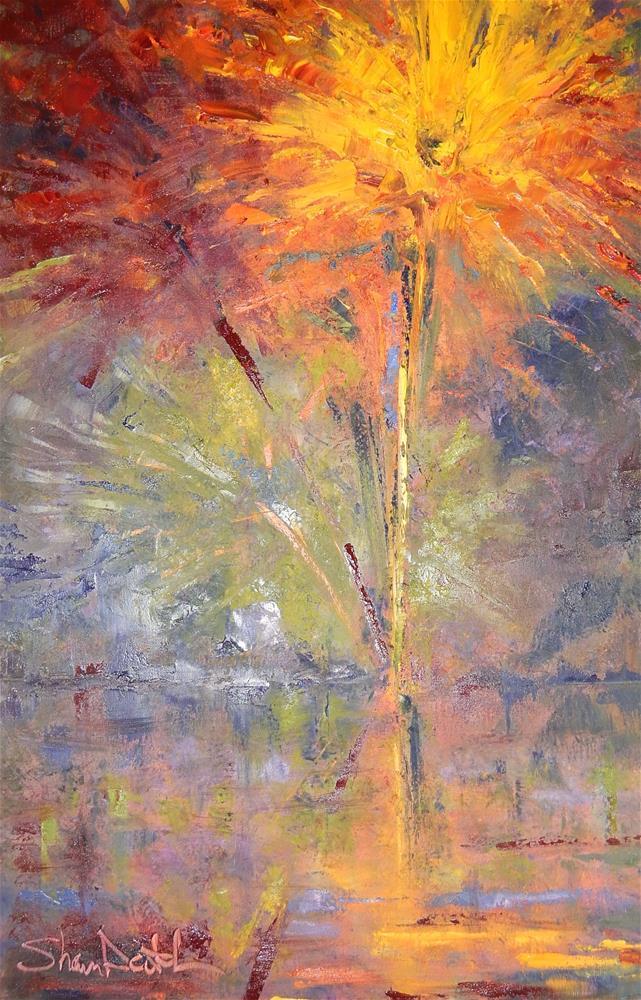 """Fireworks"" original fine art by Shawn Deitch"