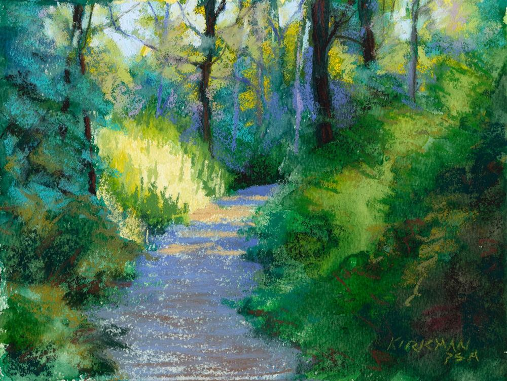 """Park Trail #24"" original fine art by Rita Kirkman"