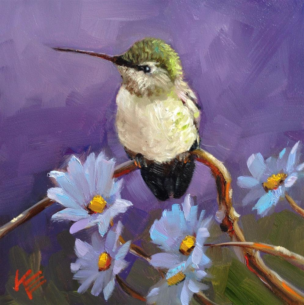 """Catching my Breath"" original fine art by Krista Eaton"