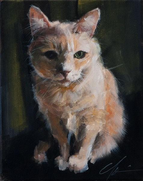 """Sid"" original fine art by Clair Hartmann"
