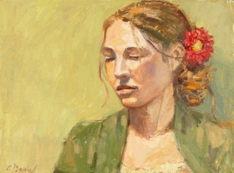"""Moment of Contemplation"" original fine art by Andrew Daniel"